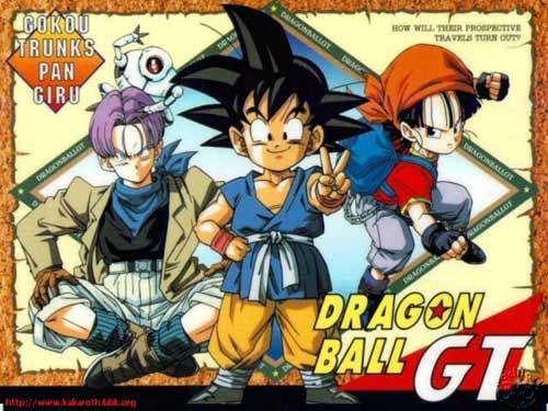 Kết quả hình ảnh cho Dragon Ball GT